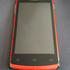 Смартфон Philips S308(2SIM/512+4GB/WiFI/BT/5+0.3Mpix)(Red)