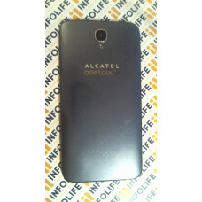 Alcatel OT-6037Y Idol 2 задняя крышка (серая)
