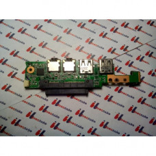 Плата Audio и USB Asus 1005HA 08G2035HA13Q, 1005HA DAU CARD REV. 1.3G
