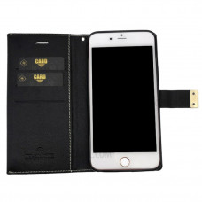 Чехол книжка Molan Cano Lucky iPhone 6 Plus(Black/Brown)