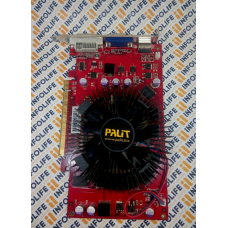 Видеокарта GeForce palit GF9600GT 512M DDR3 256B